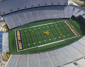 WVU Stadium, Carl Walker Construction