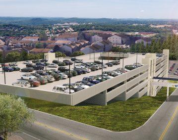 WVU Medicine Parking Garage 3