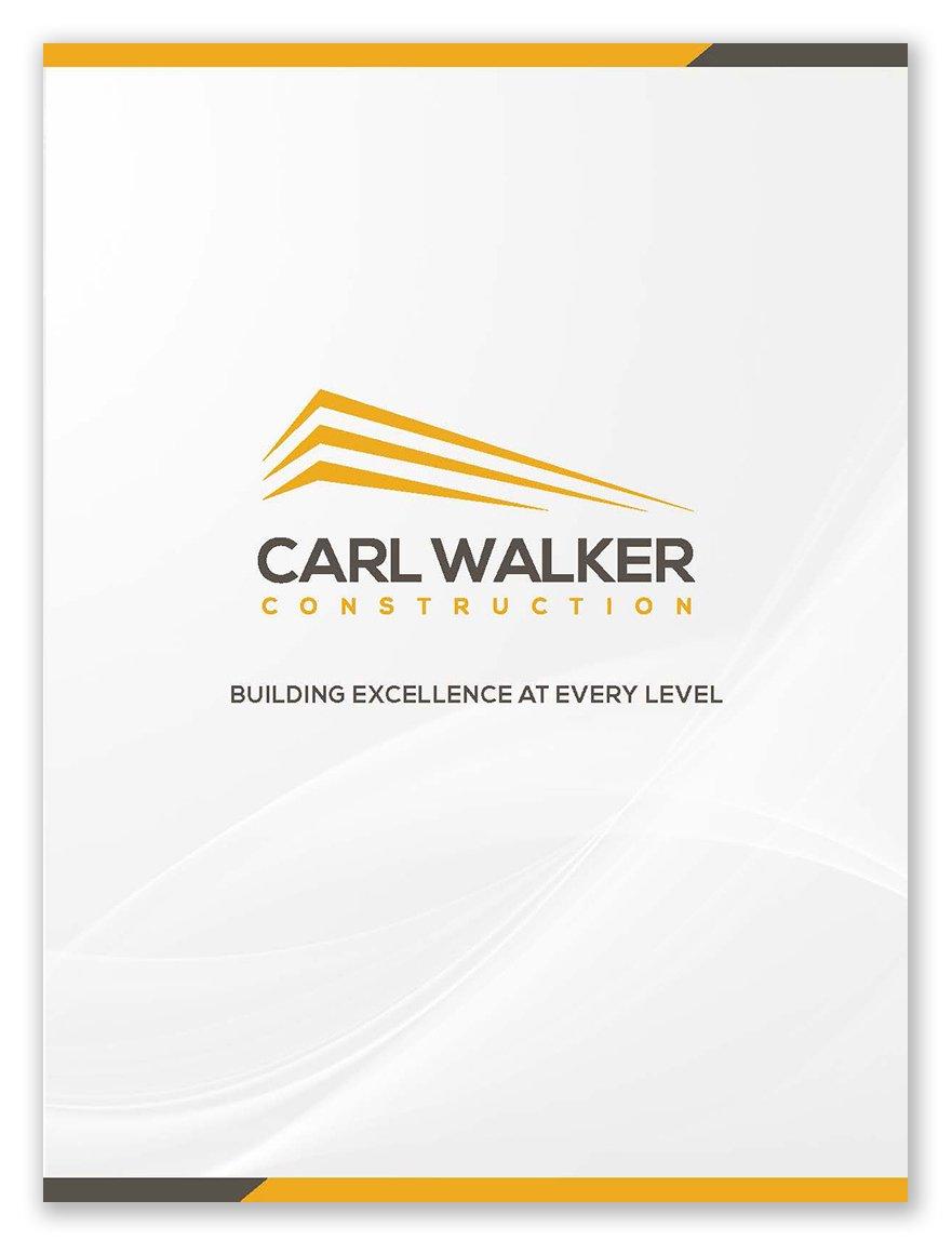 Carl Walker Construction Brochure Cover